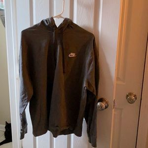 Nike | Gray Hoodie Sweatshirt Size Large B39